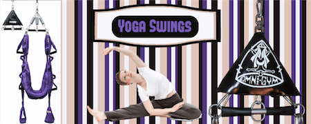 Yoga Swing Banner Official